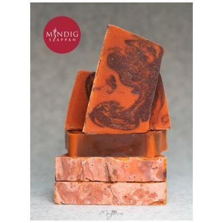 Csokoládé-narancs szappan